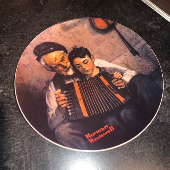 Norman Rockwell Other - Limited Edition Norman Rockwell Plate